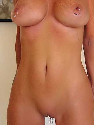 And piercing nipple clit