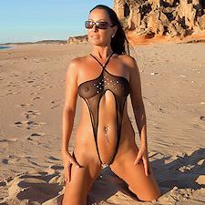 Bikini: Extreme See Through Micro Bikini - Dubio Bikinis
