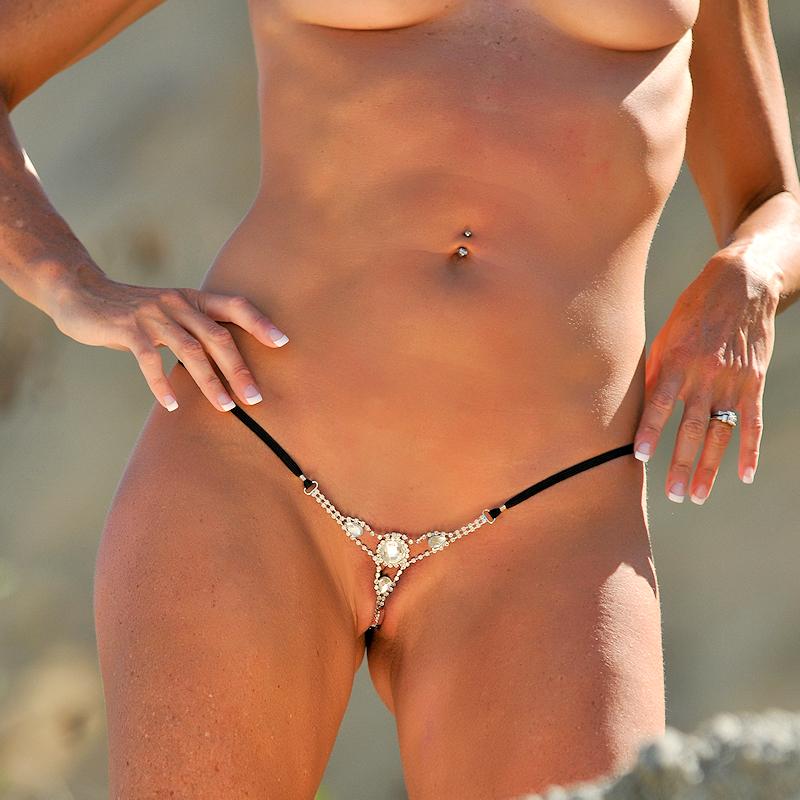 Tiny bikini